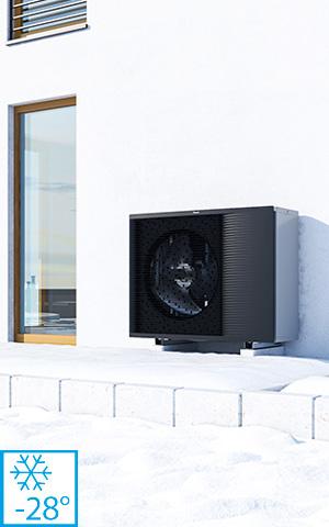 Pompa de caldura Daikin altherma 3hht temperaturi -28°C