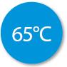 Temperatura maxima 65 grade